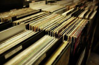 platenbak vinyl